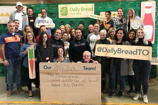The Mason Group – Daily Bread Food Bank 1
